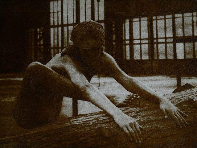 Fedor Gabčan: Depresszió, 2010/2013. brómolajnyomat