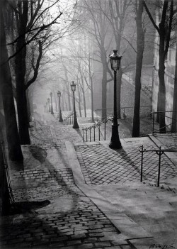 Brassai: Steps of Montmartre 1930