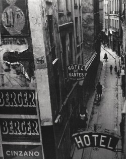 Brassai: Rue Quincampoix, Párizs 1932