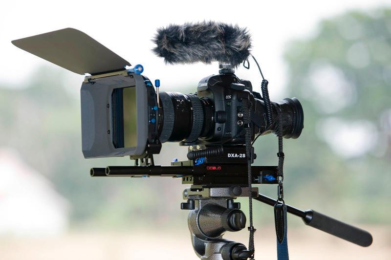 Profi forgatás digitális fényképezőgéppel