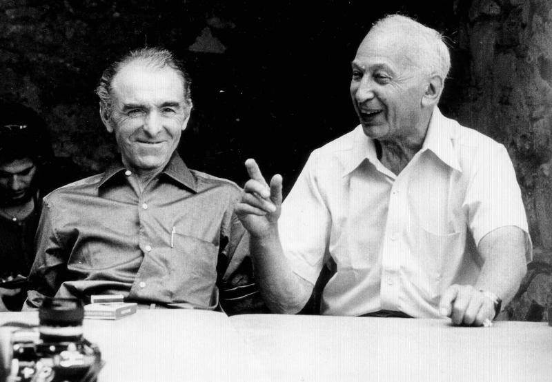 André Kertész és Robert Doisneau