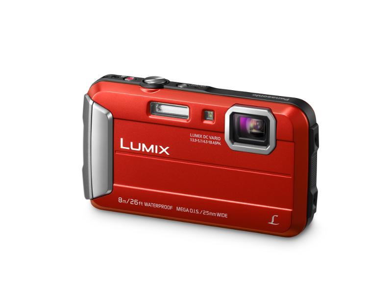 Panasonic Lumix FT30 nagy ellenállóképességű, stílusos fényképezőgép