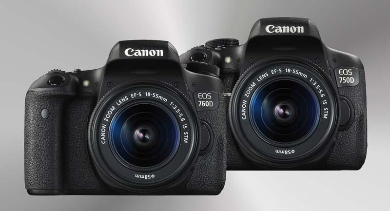 Canon 750D és 760D, új belépő szintű DSLR fényképezőgép