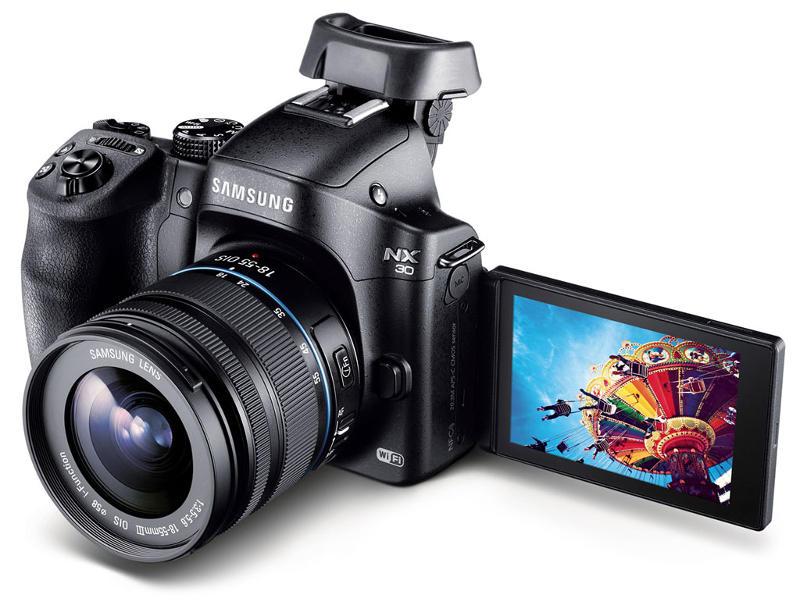Samsung NX30 D-SLR fényképezőgép