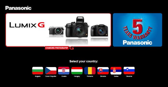 Ötéves jótállást kapnak a Panasonic Lumix G fényképezőgépek vásárlói
