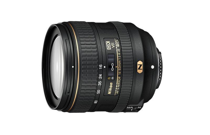 Nikon AF-S DX NIKKOR 16-80mm f/2.8-4E ED VR lens