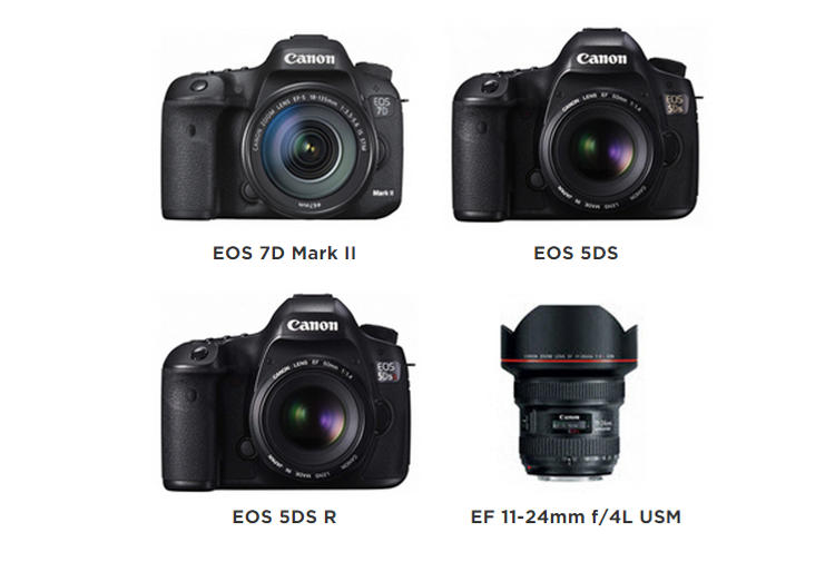 Eisa awards for Canon EOS and EF lens products
