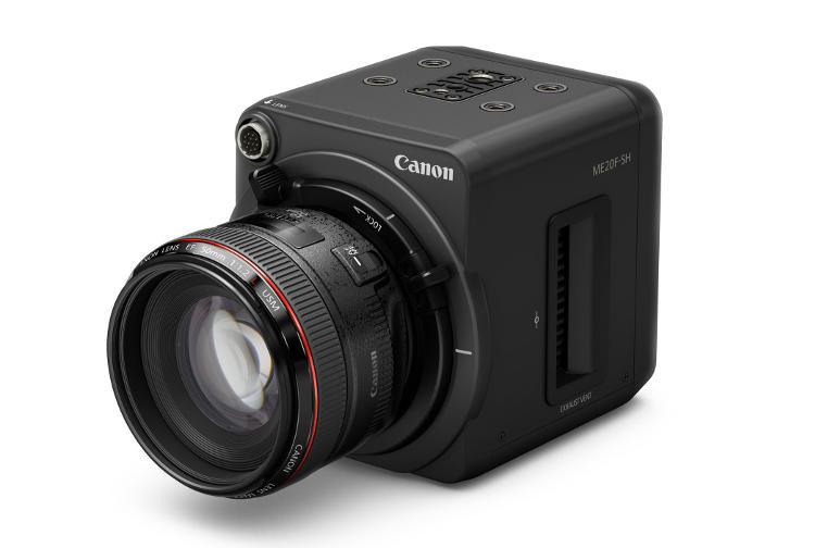See the unseen with Canon ME20F-SH Full HD colour video camera