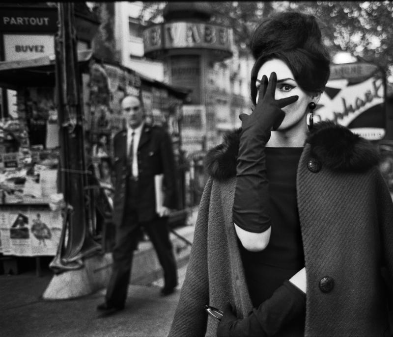Christer Strömholm - Nana, Place Blanche, Paris 1961