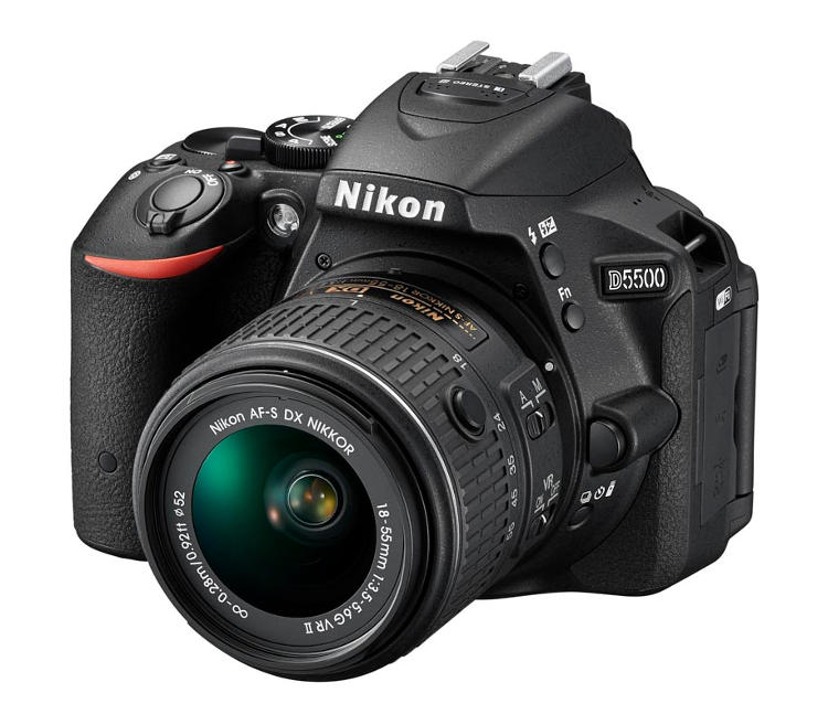 Nikon DX-format digital SLR camera, the Nikon D5500