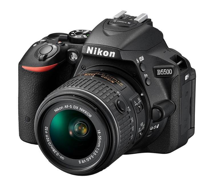 Nikon DX-format digital SLR camera, the Nikon D5500