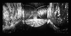 Balázs Telek: My Father, 2001, 370 degree camera obscura panorama