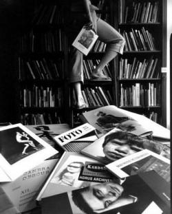 Balázs Telek: Library in Mai Manó Ház
