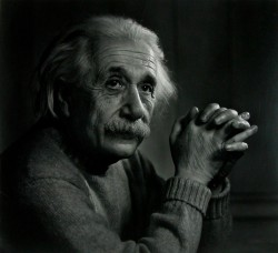 Yousuf Karsh: Albert Einstein, 1948
