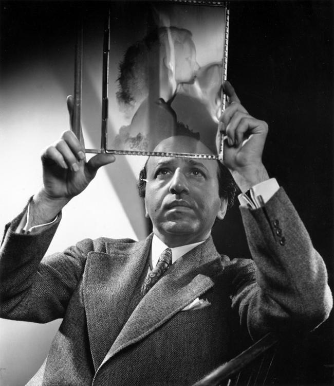 Yousuf Karsh self portrait 1952