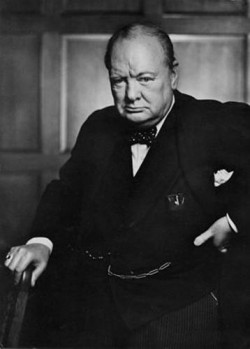 Yousuf Karsh: Winston Churchill, 1941