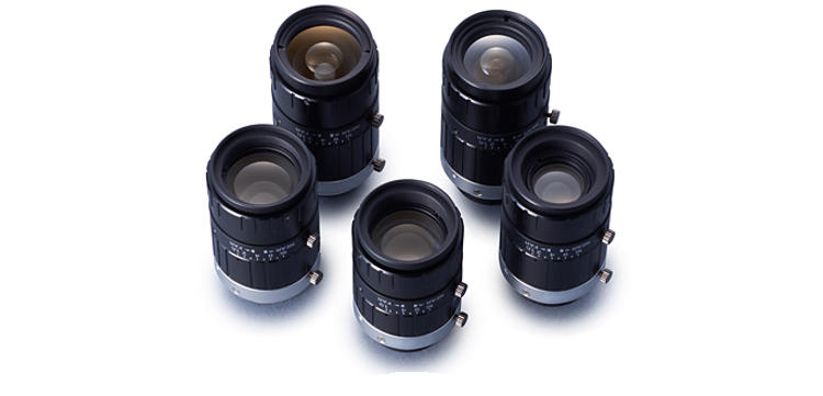 "Machine Vision Fujinon lens lineup supporting 3-megapixel 2/3"" format"