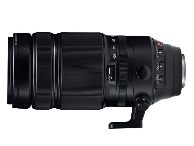 The FUJINON XF100-400mm F4.5-5.6 R LM OIS WR lens