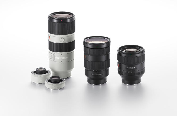 New Sony G Master™ Brand of Interchangeable Lenses