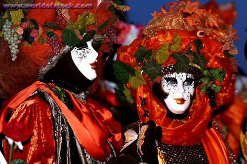 A Velencei karnevál fotós szemmel
