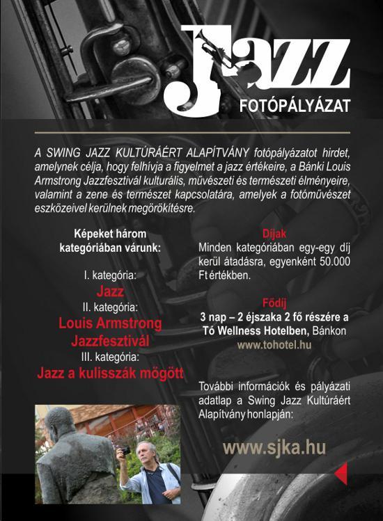 Swing Jazz Alapítvány fotópályázat