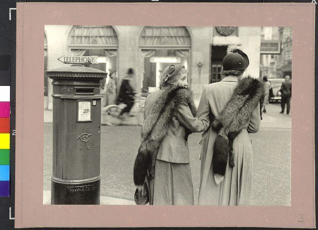 New Bond Street, London, Nagy-Britannia, 1953. © Inge Morath / Magnum Photos