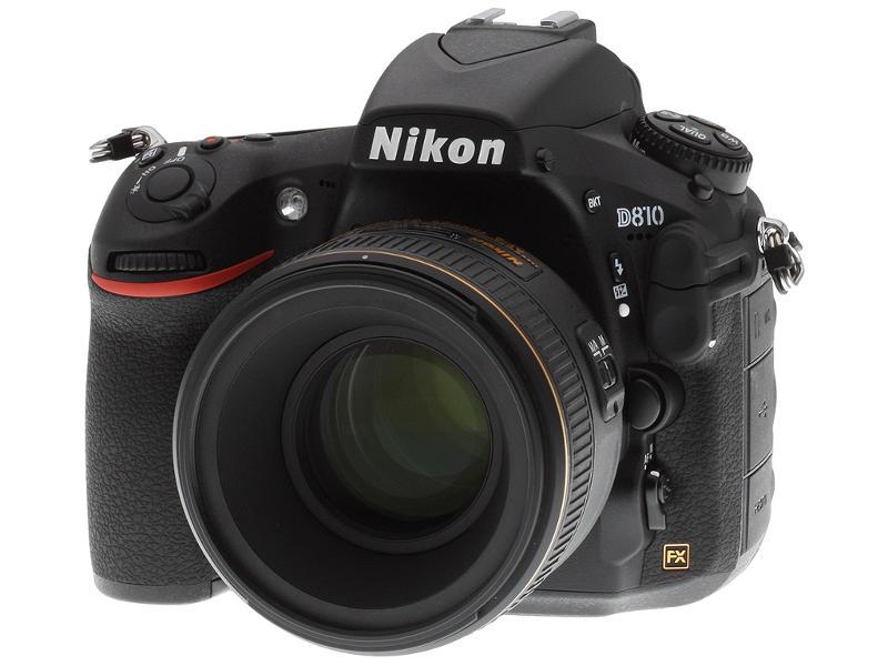 Nikon D810 sokoldalú D-SLR fényképezőgép