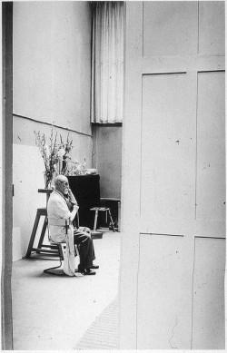 Brassai: Matisse a műtermében 1939