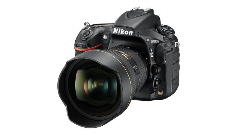 A Nikon első csillagfényképezésre alkalmas D-SLR modellje, a D810A