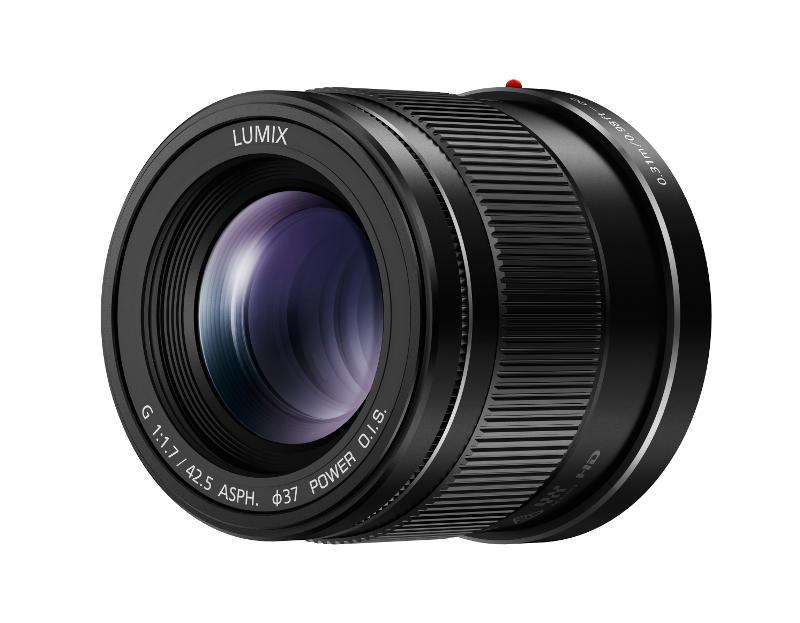 42,5 mm gyújtótávolságú és f1,7 fényerejű Panasonic objektív