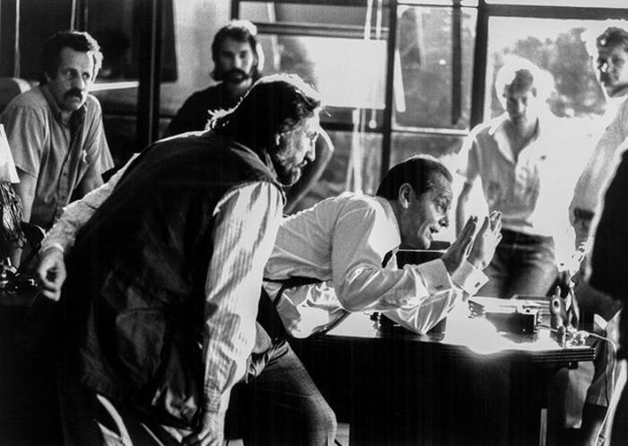 Zsigmond Vilmos: The Two Jakes. Jack Nicholson, 1989. Fotó: Elliot Marks