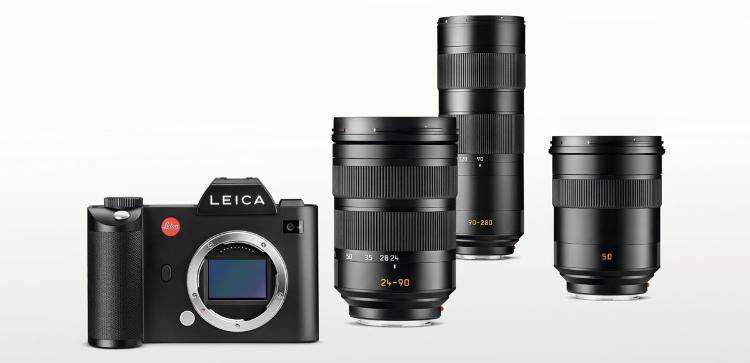 Leica SL tükör nélküli digitális fényképezőgép