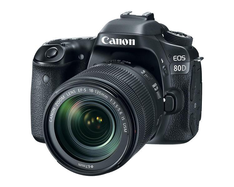 A Canon bemutatta az EOS 80D-t